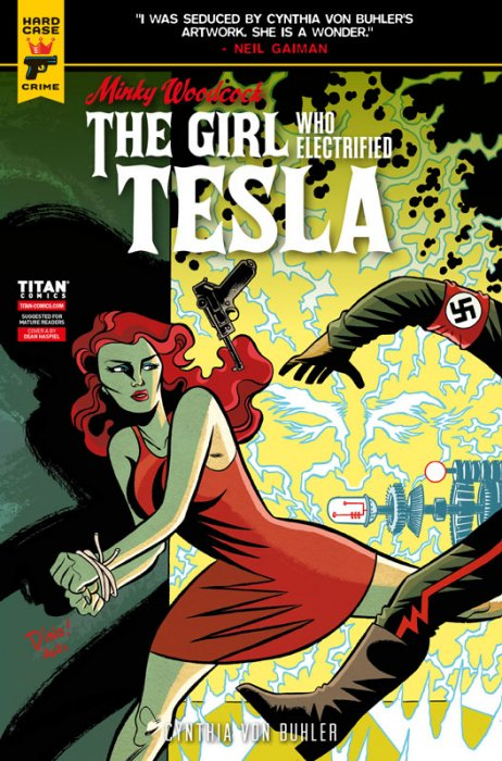 Minky Woodcock - The Girl Who Electrified Tesla #4