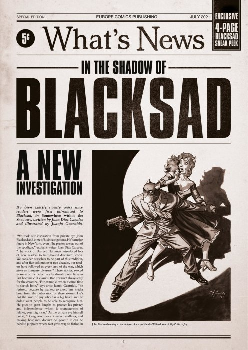 Blacksad - Special Edition - What's News #1