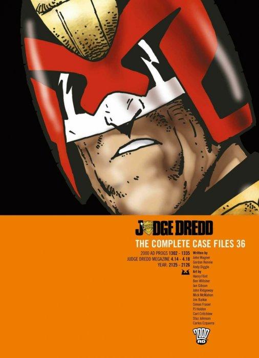Judge Dredd - The Complete Case Files Vol.36