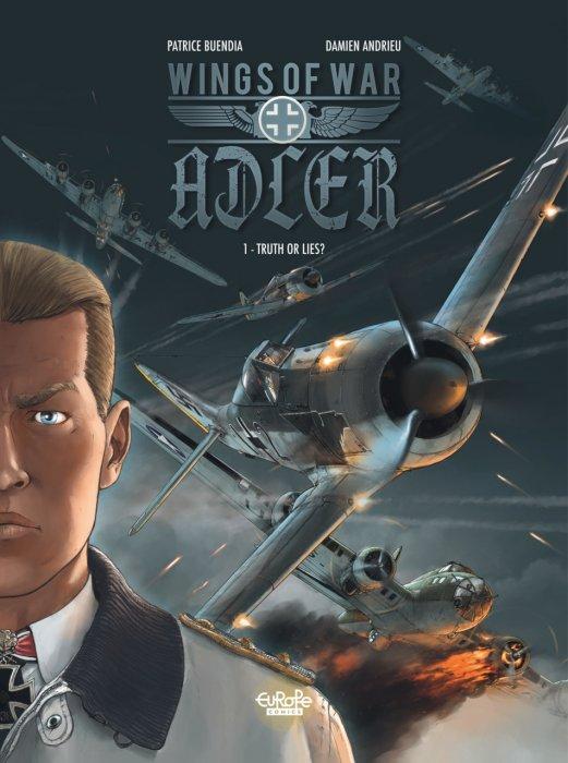 Wings of War Adler #1-4 Complete