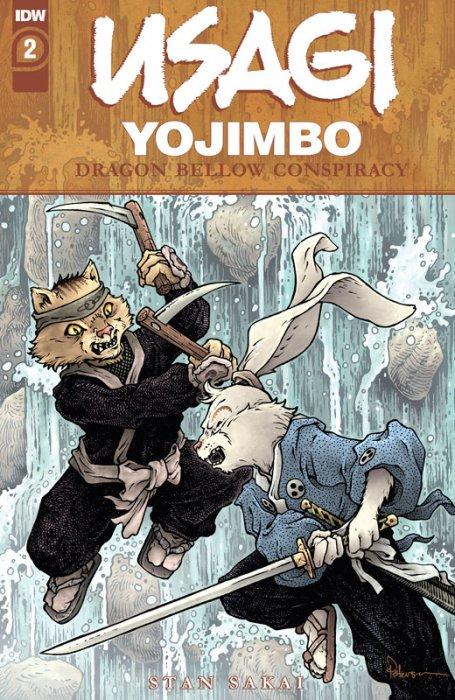 Usagi Yojimbo - The Dragon Bellow Conspiracy #2