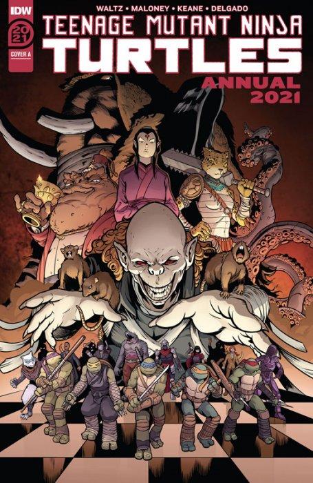 Teenage Mutant Ninja Turtles Annual 2021 #1
