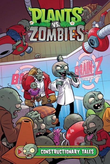 Plants vs. Zombies Vol.18 - Constructionary Tales