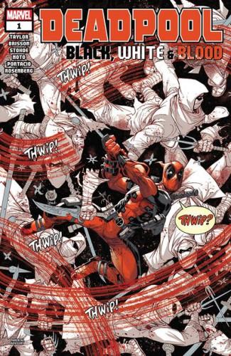 Deadpool - Black, White & Blood #1