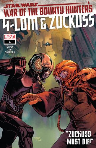 Star Wars - War Of The Bounty Hunters - 4-Lom & Zuckuss #1