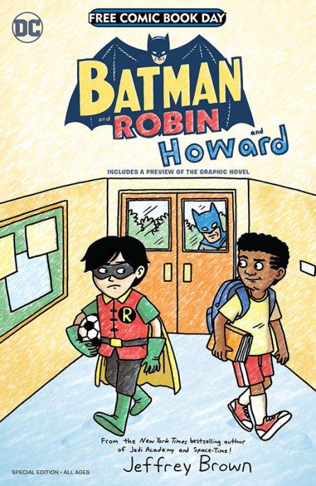 Batman and Robin...and Howard-Amethyst - Princess of Gemworld Special Edition Flipbook #1