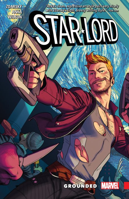 Star-Lord - Grounded #1 - TPB