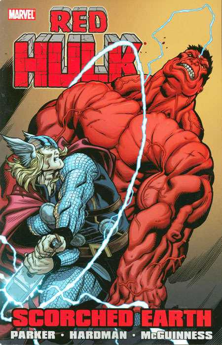 Red Hulk - Scorched Earth #1 - TPB