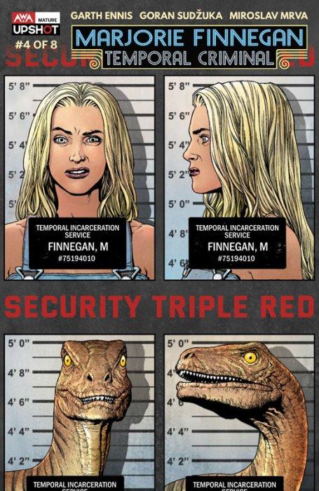 Marjorie Finnegan - Temporal Criminal #4