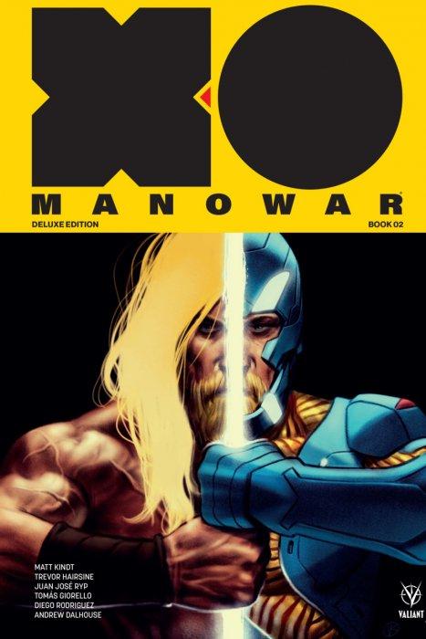 X-O Manowar by Matt Kindt Deluxe Edition Book 2