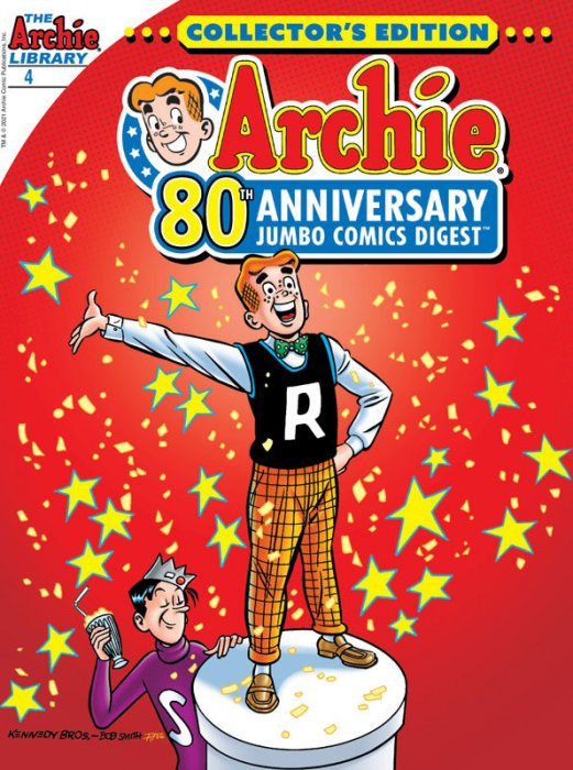 Archie 80th Anniversary Comics Digest #4