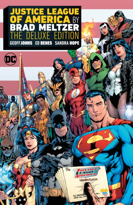 Justice League of America by Brad Meltzer - The Deluxe Edition #1 - HC