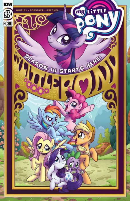 My Little Pony - Friendship is Magic - Free Comic Book Day 2020