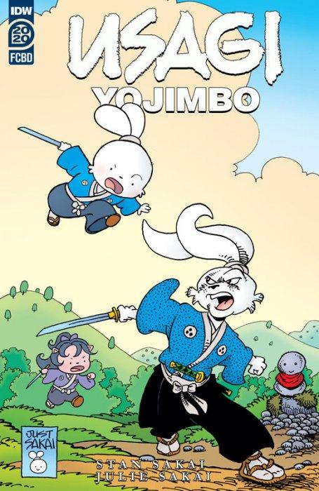 Usagi Yojimbo FCBD 2020