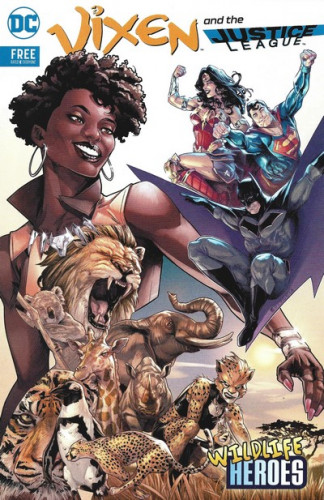 Vixen and the Justice League - Wildlife Heroes #1