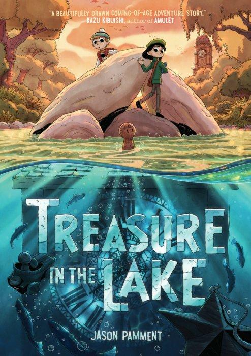 Treasure in the Lake #1 - GN