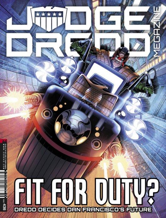 Judge Dredd Megazine #436