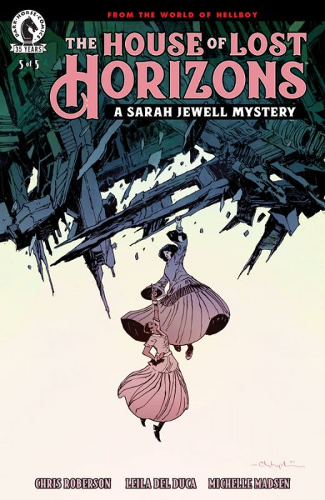 The House of Lost Horizons #5 (of 5) - A Sarah Jewell Mystery