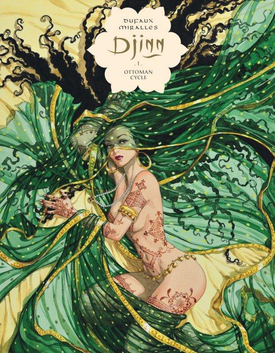 Djinn Omnibus Vol.1-3 Complete