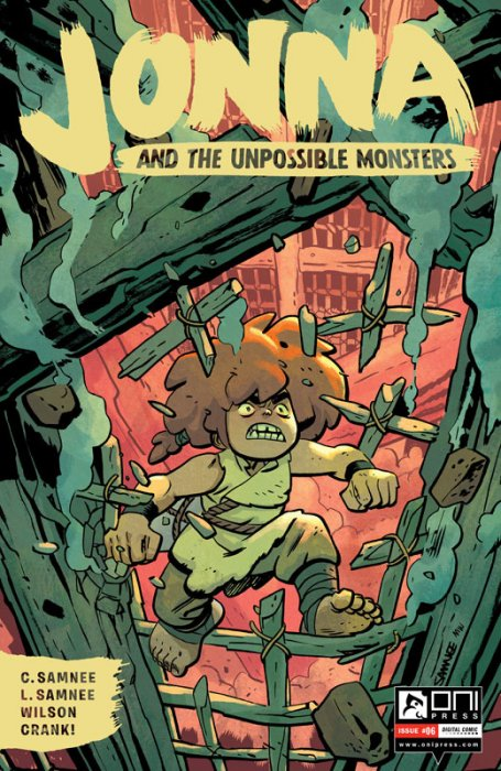 Jonna and the Unpossible Monsters #6