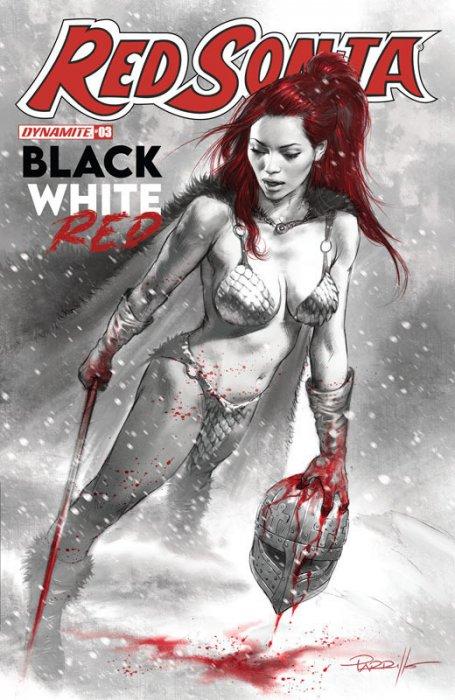 Red Sonja Black White Red #3
