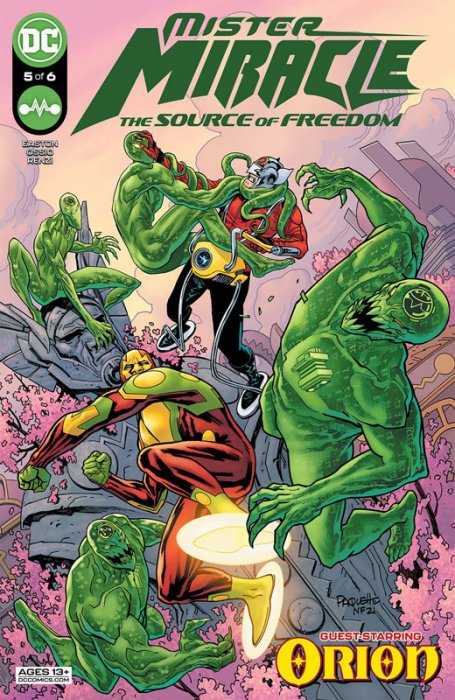 Mister Miracle - The Source of Freedom #5
