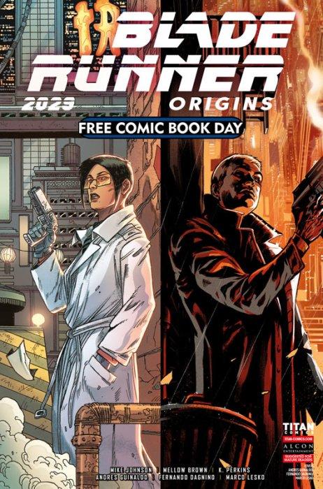 Blade Runner Free Comic Book Day 2021
