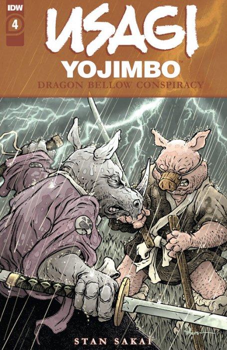 Usagi Yojimbo - The Dragon Bellow Conspiracy #4