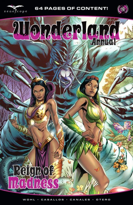 Wonderland Annual - Reign of Madness #1