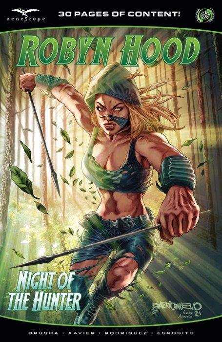 Robyn Hood - Night of the Hunter #1