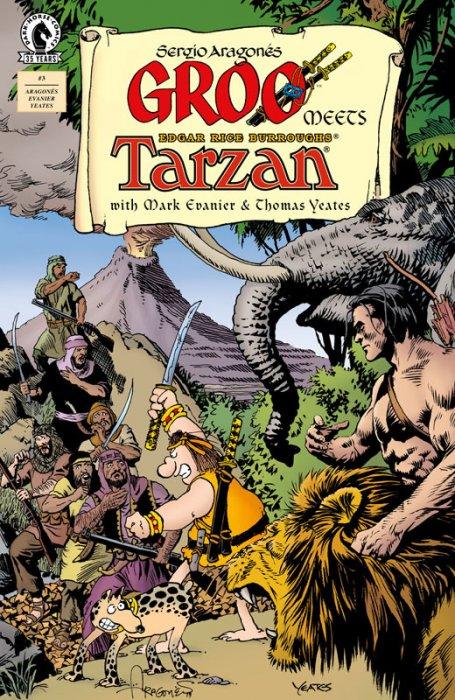 Groo Meets Tarzan #3