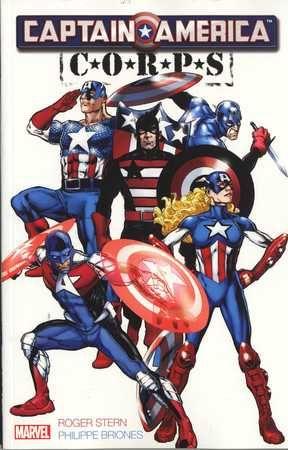 Captain America - Corps #1 - TPB