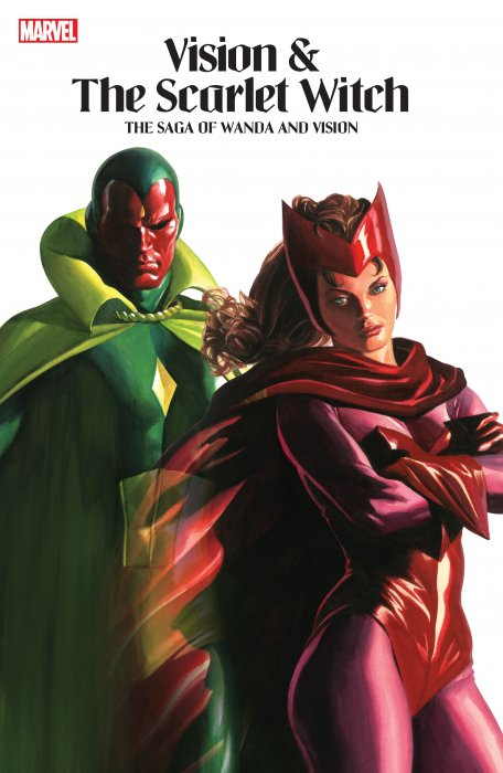 Vision And The Scarlet Witch - The Saga Of Wanda And Vision #1 - TPB