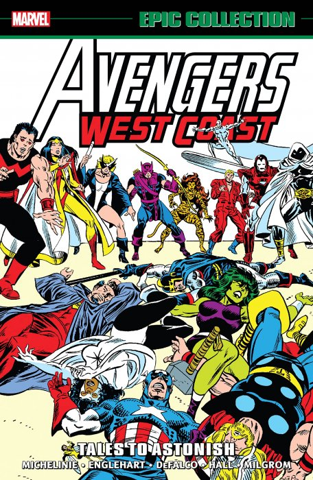 Avengers West Coast Epic Collection Vol.3 - Tales To Astonish