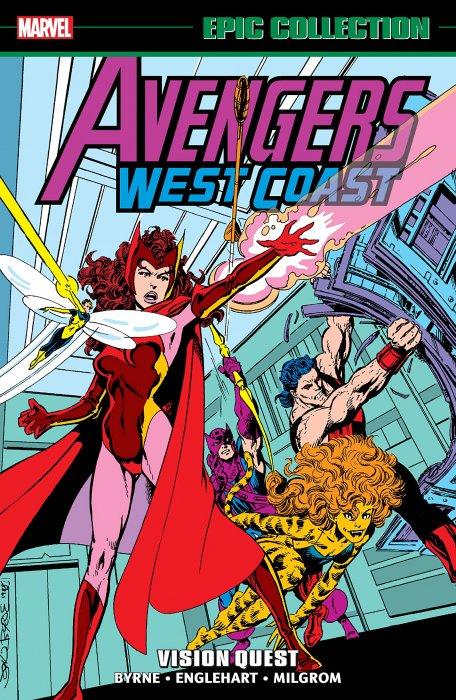 Avengers West Coast Epic Collection Vol.4 - Vision Quest