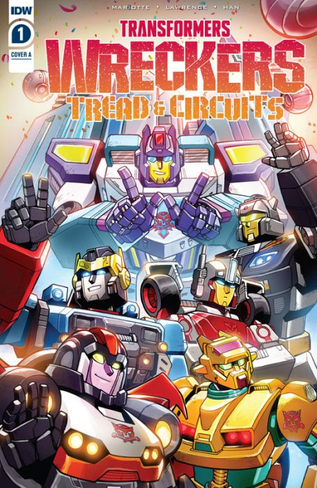 Transformers - Wreckers - Tread & Circuits #1