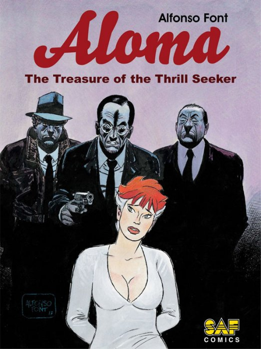 Aloma #1 - The Treasure of the Thrill Seeker