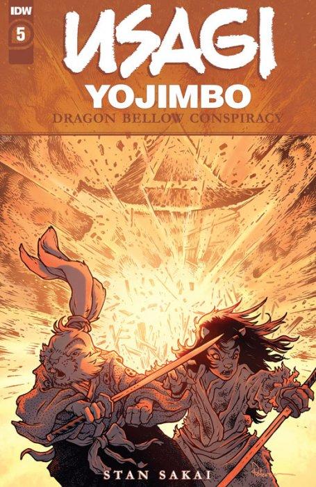Usagi Yojimbo - The Dragon Bellow Conspiracy #5