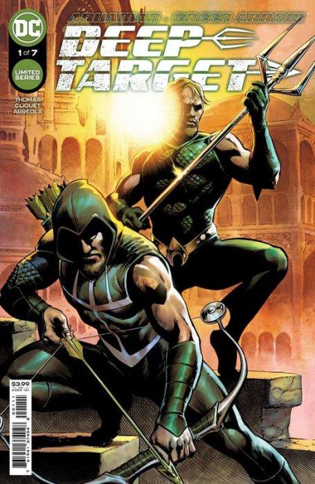 Aquaman - Green Arrow - Deep Target #1