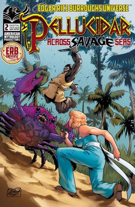 Pellucidar - Across Savage Seas #2